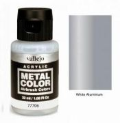 Metal Color - White Aluminium 32ml<br> VAL77706